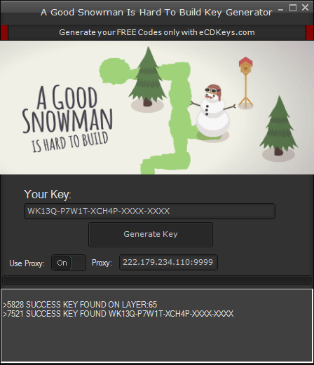 A Good Snowman Is Hard To Build cd-key