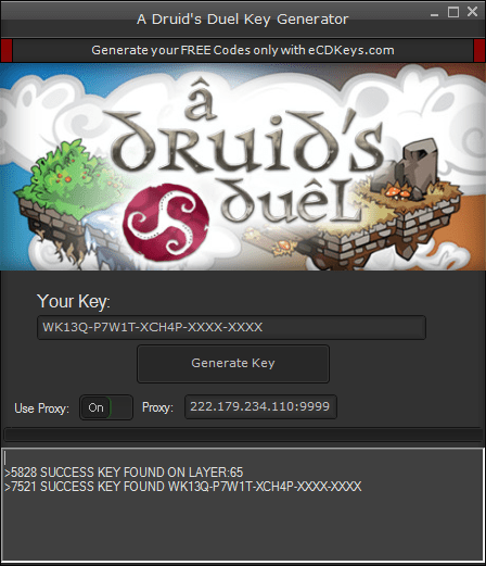 A Druid's Duel cd-key
