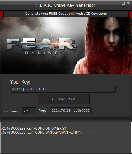 F.E.A.R. Online cd-key