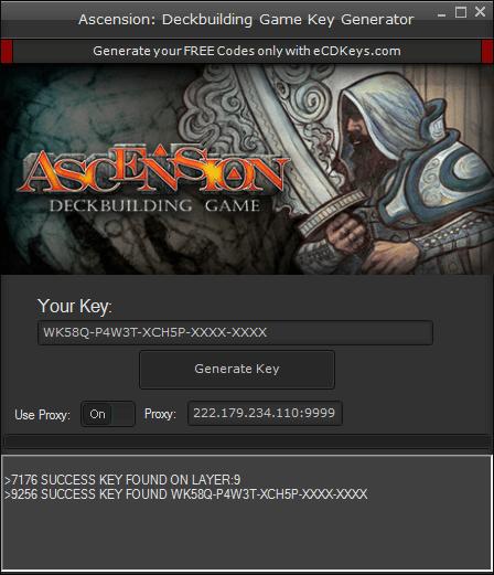 Ascension: Deckbuilding Game cd-key