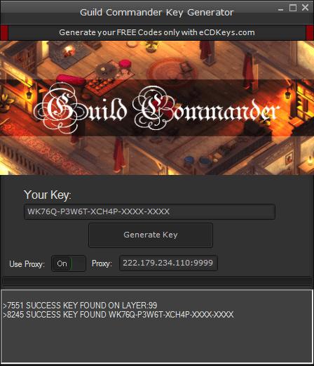 Guild Commander cd-key