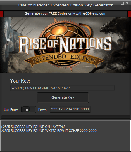 Rise of Nations: Extended Edition cd-key