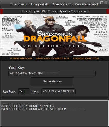 Shadowrun: Dragonfall - Director's Cut cd-key