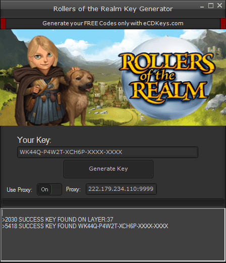 Rollers of the Realm cd-key
