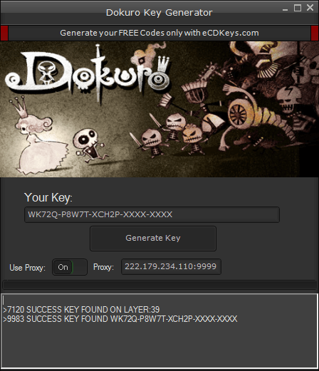 Dokuro cd-key