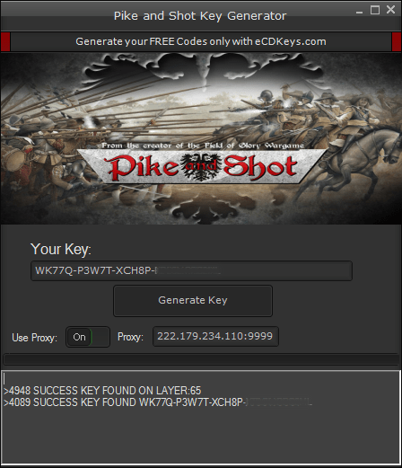 Pike and Shot cd-key