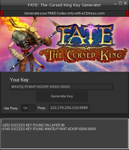 FATE The Cursed King cd-key