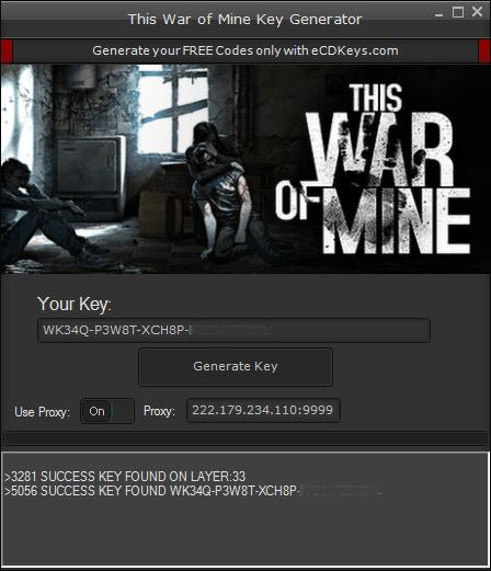 This War of Mine cd-key