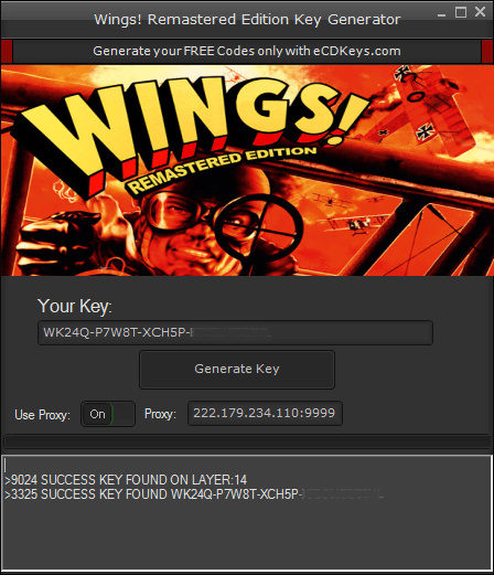 Wings! Remastered Edition cd-key