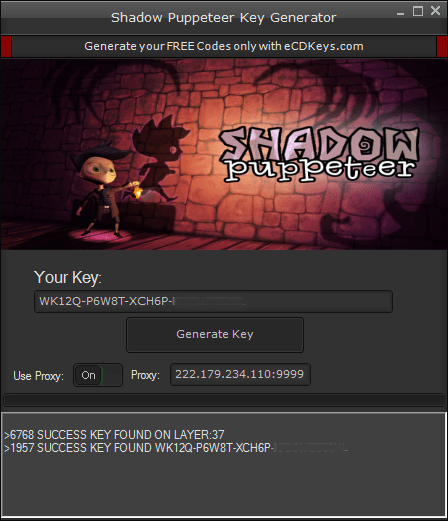 Shadow Puppeteer cd-key