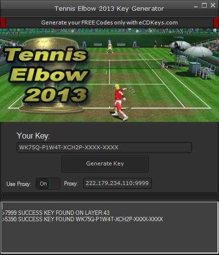 Tennis Elbow 2013 cd-key