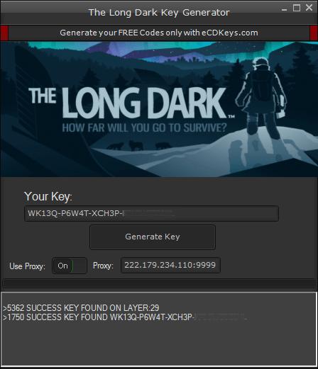 The Long Dark cd-key