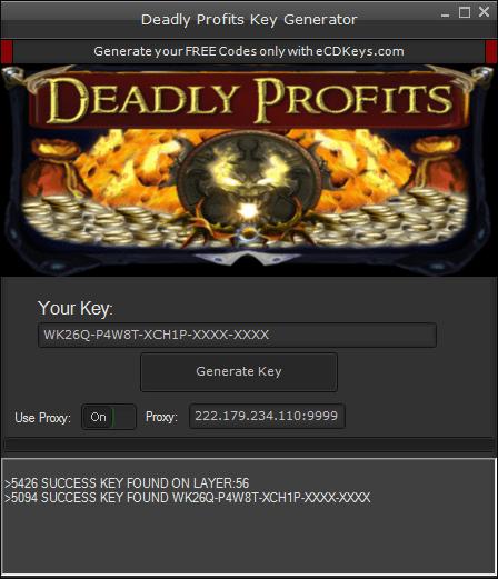 Deadly Profits cd-key