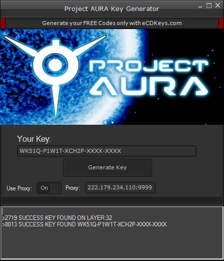Project AURA cd-key