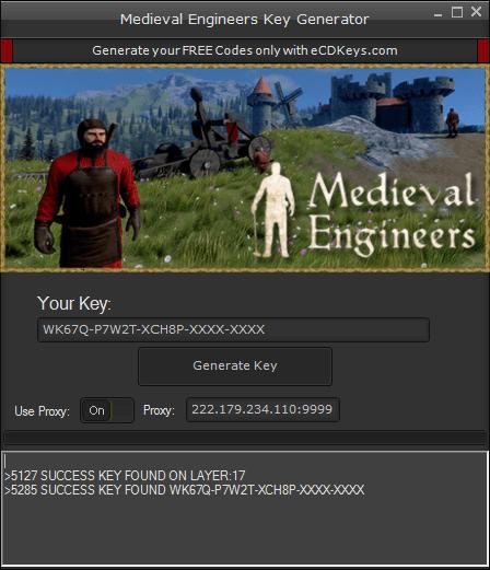 Medieval Engineers cd-key