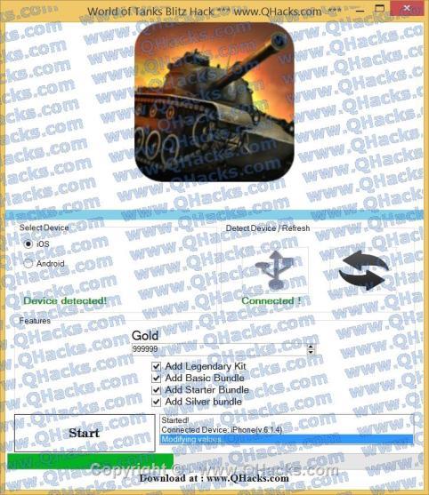 World of Tanks Blitz hacks