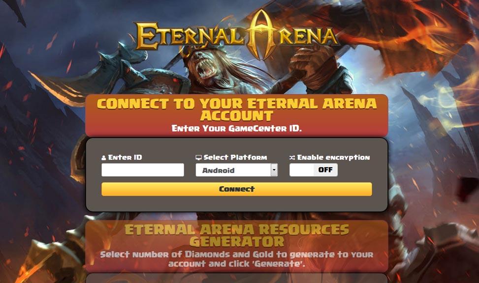 Eternal Arena Hack