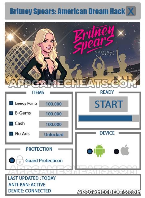 Britney Spears: American Dream Hack