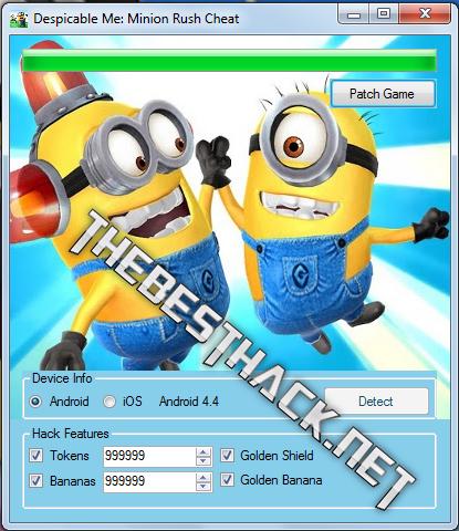 Download Despicable Me Minions Rush Hack