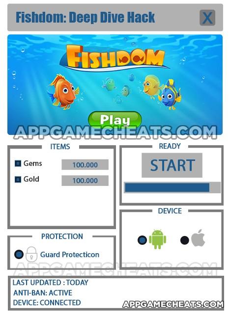 Fishdom: Deep Dive Hack