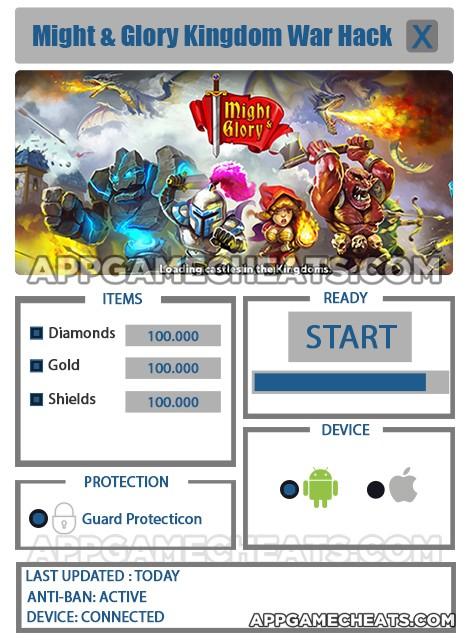 Might and Glory Kingdom War Hack