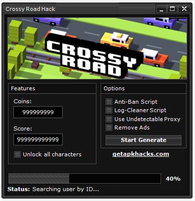 Crossy Road Hack