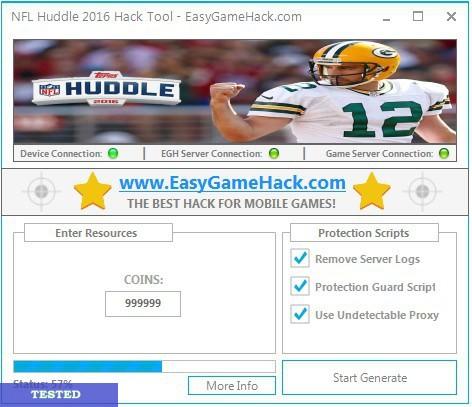 NFL Huddle 2016 Hack