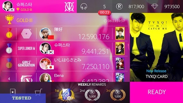 SuperStar SMTOWN Cheat HackTool Unlimited Rhythm Points and Diamond Cash (Android/iOS)