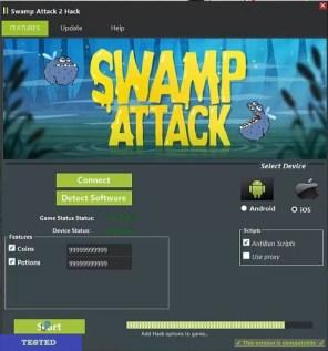 Swamp Attack Hack