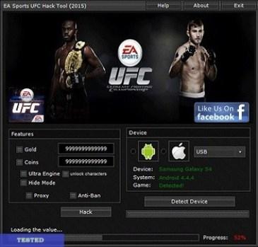 EA Sports UFC Hack Cheat