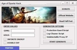 Age of Sparta Hack Tool Cheats Free