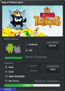 King of Thieves Hack Tool Free Download No Survey Android/IOS