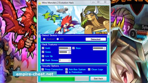 Mino Monsters 2 Evolution Hack Cheat