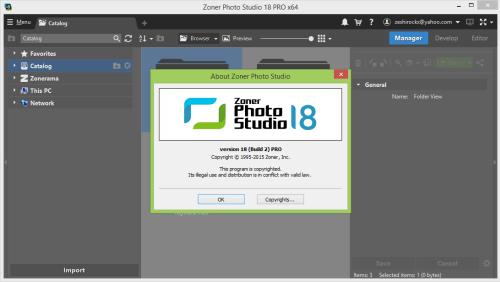 Zoner Photo Studio Pro 18.0 Full Serial Key & Crack