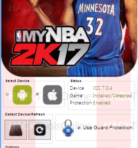 My NBA 2K17 hack tool iOS Android
