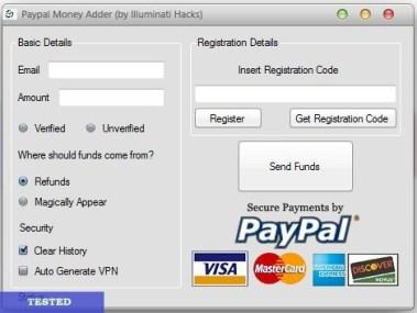 PayPal Hack Tool