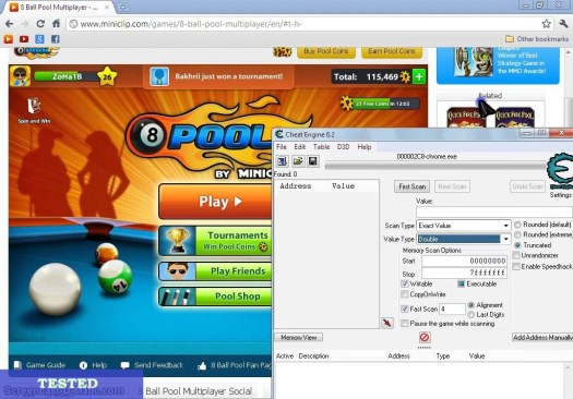 8 Ball Pool Cheats Coins and Cash