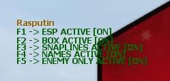 Counter-Strike: Global Offensive Rasputin Simple Internal MM & DZ