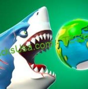IOS MOD Game Hungry Shark World V3.0.4 MOD FOR IOS   FREE IAP/FREE STORE
