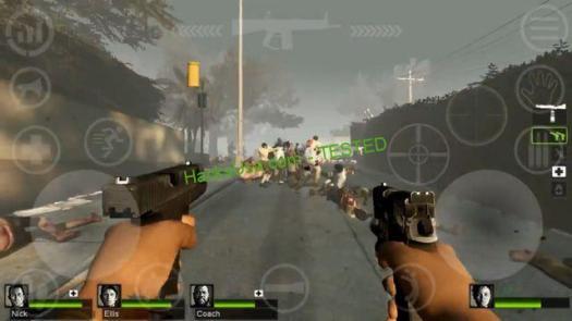 Left 4 Dead 2 apk mod gameplay
