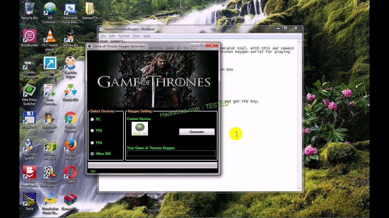 Game of Thrones Keygen NEW