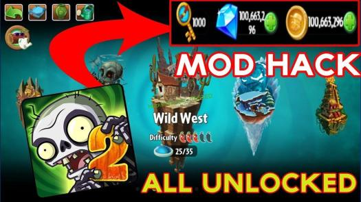 Plants Vs Zombies 2 Hack Unlimited Plants Food Add Unlimited Coins