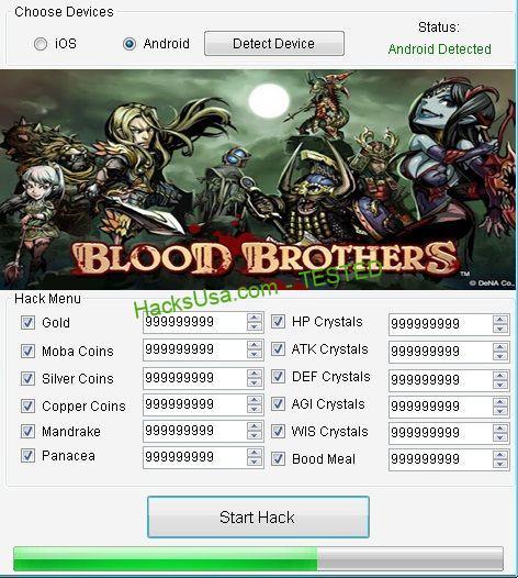Blood Brothers Hack Tool Apk Free Download No Survey 2015 | Хакеры