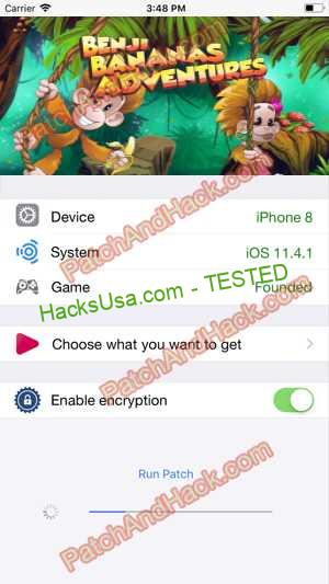 Benji Bananas Hack - patch and cheats for Bananas and other stuff on Anroid and iOS