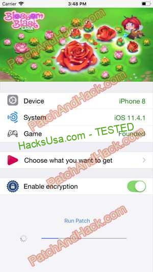 Blossom Blast Saga Hack - patch and cheats for Money and other stuff on Anroid and iOS