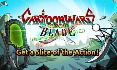 Cartoon Wars: Blade Patch and Cheats money