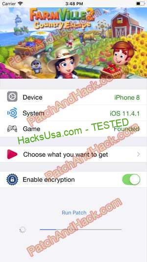 FarmVille 2: Country Escape Hack - patch and cheats for Keys and other stuff on Anroid and iOS