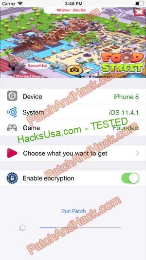 Food Street Hack - patch and cheats for Money and other stuff on Anroid and iOS