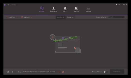 Wondershare Video Converter Ultimate 10.0.11 Serial Key