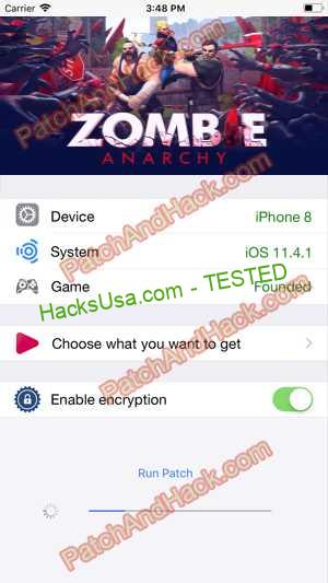 Zombie Anarchy Hack - patch and cheats for Money and other stuff on Anroid and iOS